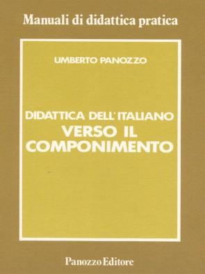 Verso il componimento Umberto Panozzo Panozzo Editore