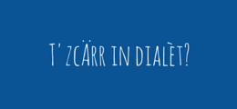 T zcarr in dialet?