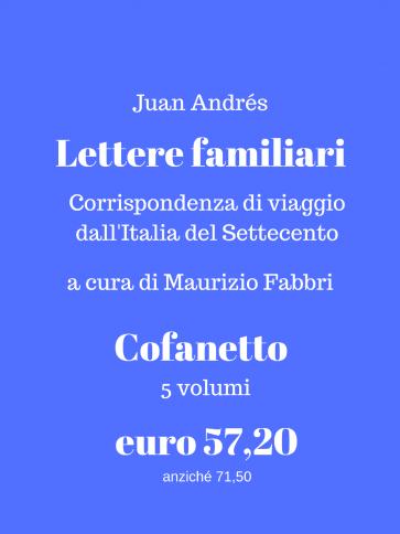 Lettere familiari - cofanetto Panozzo Editore