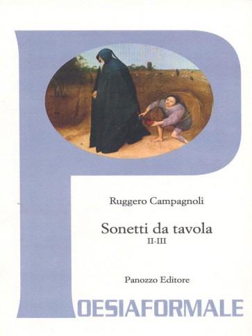 Ruggero Campagnoli Sonetti da tavola Panozzo Editore