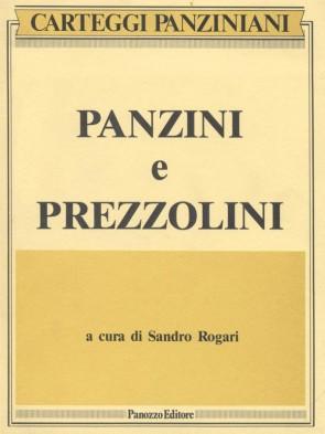 Panzini e Prezzolini Sandro Rogari Panozzo Editore